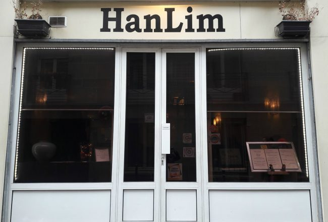 restaurant hanlim goût coree paris