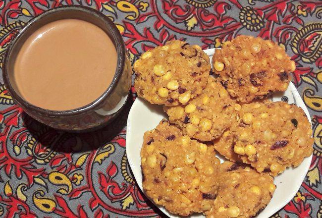 recette masala vadai et thé indien