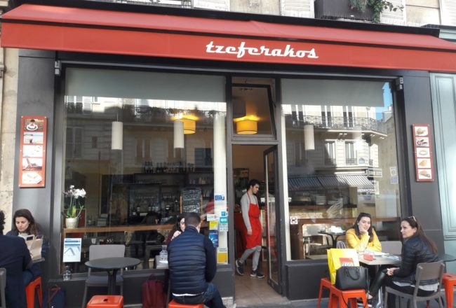 Tzeferakos resto grec paris